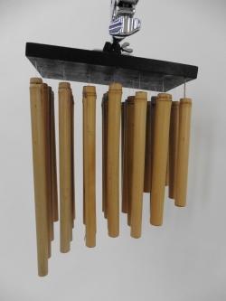Holz-Chimes, Hängende Bambusrohre