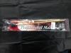 1 Paar Vibraphon Professional, grau, medium hard, Rattan-Stiel, NEU